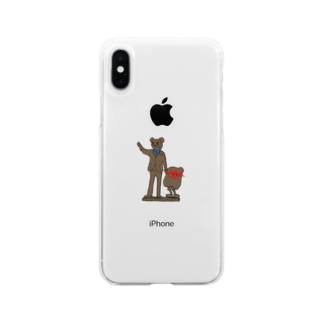 Mojasのパートナー Soft clear smartphone cases