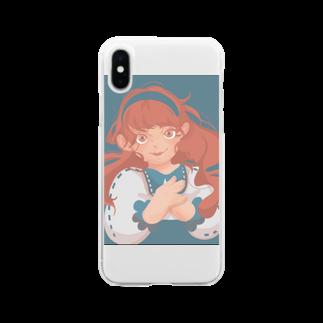 MINiの女の子 Soft clear smartphone cases