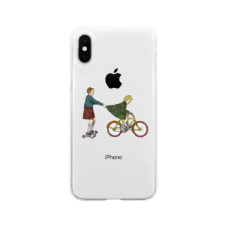 In Just Night. (いんじゃない?)のThe cozzet Soft clear smartphone cases