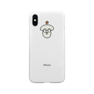 CheerCheeze.Rのわらうぞうくん Soft clear smartphone cases