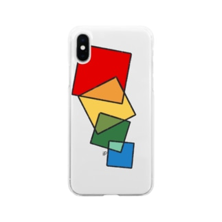 Colors:R To B Soft clear smartphone cases