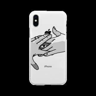 電腦百貨大樓の狐の窓 Soft clear smartphone cases