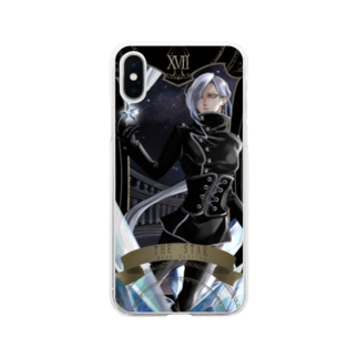 crowe_vfのTHE STAR Soft clear smartphone cases