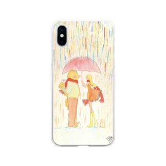 ひと目、会いたくて。 Soft clear smartphone cases