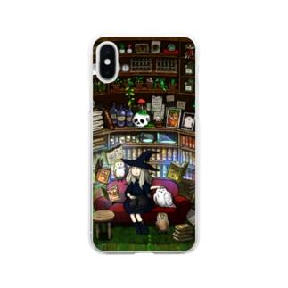 魔女の勉強 Soft clear smartphone cases