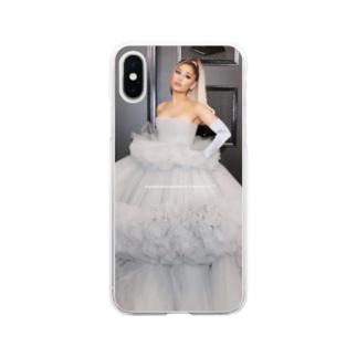 Ariana Grande iPhone ケース Soft clear smartphone cases