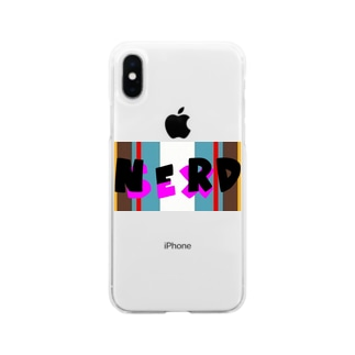 NERD Soft clear smartphone cases