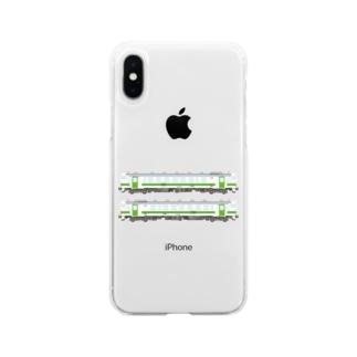 キハ401&402 Soft clear smartphone cases
