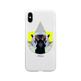 ゆきどけ Soft clear smartphone cases