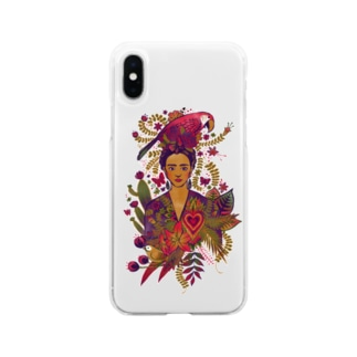 Frida Soft clear smartphone cases