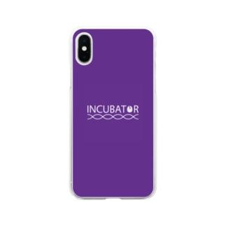 INCUBATOR Soft clear smartphone cases