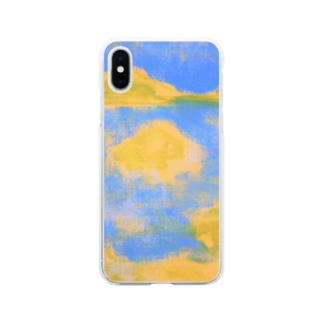Seaside Village Soft clear smartphone cases