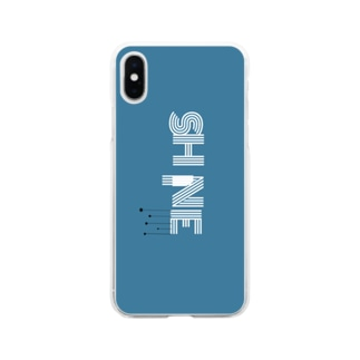 SHINE(シャイン) Soft clear smartphone cases