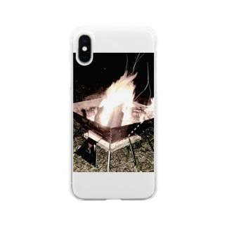 暖 Soft clear smartphone cases