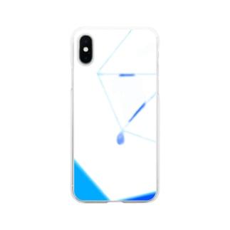雨 Soft clear smartphone cases