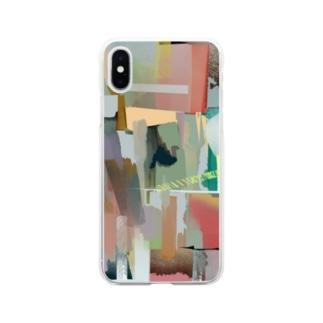 虚 Soft clear smartphone cases