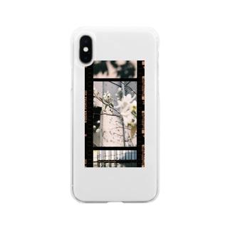 すこやかな Soft clear smartphone cases