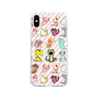 fantastic partners スマホケース Soft clear smartphone cases