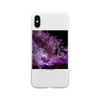 さくらさん Soft clear smartphone cases