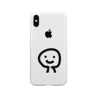 いつもの Soft clear smartphone cases