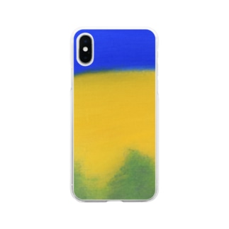 Blue night Soft clear smartphone cases