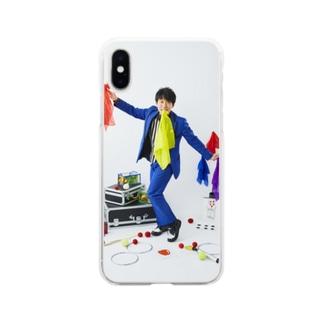 あざーすアイテム2 Soft clear smartphone cases