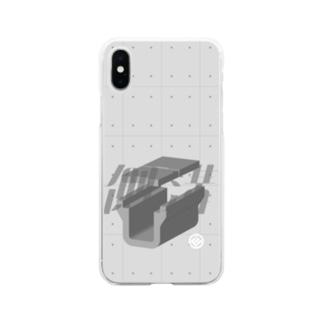 道路のあれ2 Soft clear smartphone cases
