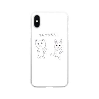 TATAKAI Soft clear smartphone cases