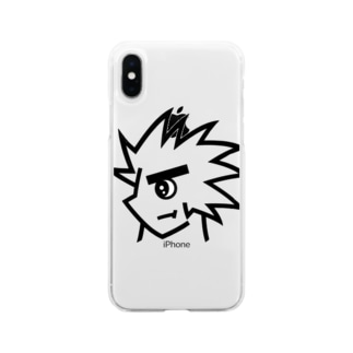 良い子くん Soft clear smartphone cases