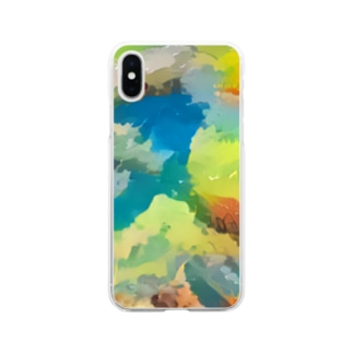 COLORS Soft clear smartphone cases