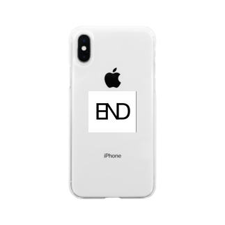 END_officialのEND Soft clear smartphone cases