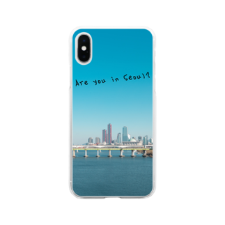 YejinのAre you in Seoul ?  Soft clear smartphone cases