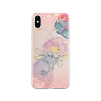 フェアリーリムリム Soft clear smartphone cases