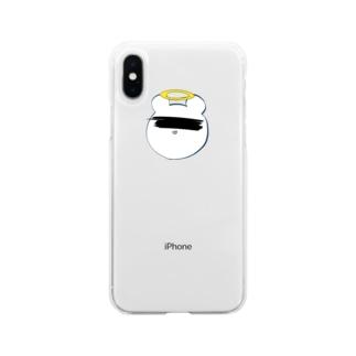 昇天 Soft clear smartphone cases