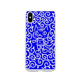 からくさこてつ Soft clear smartphone cases