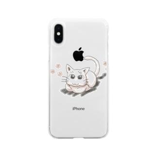 あざといニャン Soft clear smartphone cases