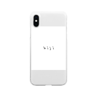 lycheeのきじさん Soft clear smartphone cases