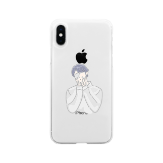 MayのOppa Soft clear smartphone cases