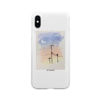 高砂橋 Soft clear smartphone cases
