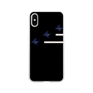 isaisaiisaaのつばめ Soft clear smartphone cases