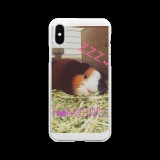 ユンユナのアイラブモルモット  Soft clear smartphone cases