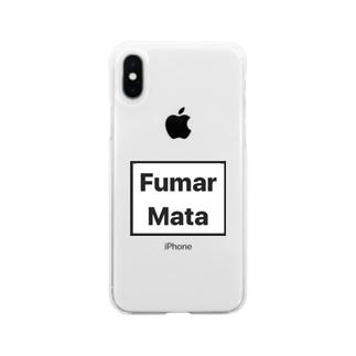 AlvaroのFumar Mata Soft clear smartphone cases