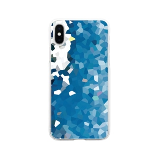 Ocean Soft clear smartphone cases