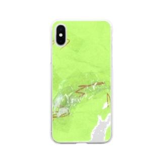 折り紙など(3歳)2 Soft clear smartphone cases