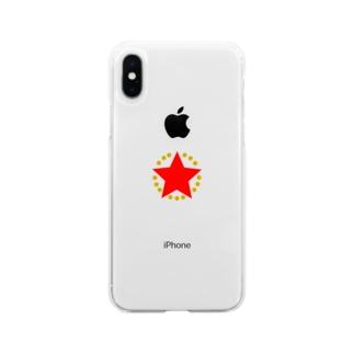 日本革命委員会 Soft clear smartphone cases