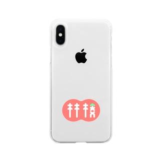 林檎 Soft clear smartphone cases