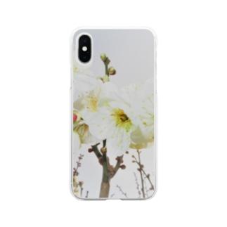TOKIMEKIFLOWER白梅花 Soft clear smartphone cases