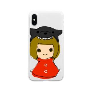 くーちゃんとわたし Soft Clear Smartphone Case