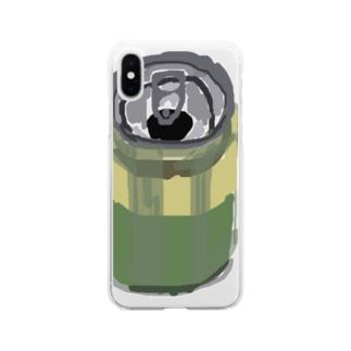 食欲の失せるのみもの Soft clear smartphone cases