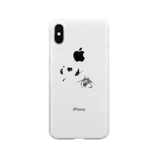海 =sea= Soft clear smartphone cases
